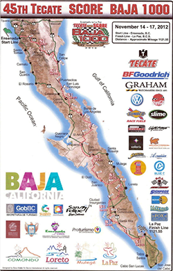 2012 Baja 1000 with SAFARI™